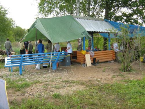 Альтанка - месца адпачынку, вечаровага збору і калектыўнага сядзення ў дождж
